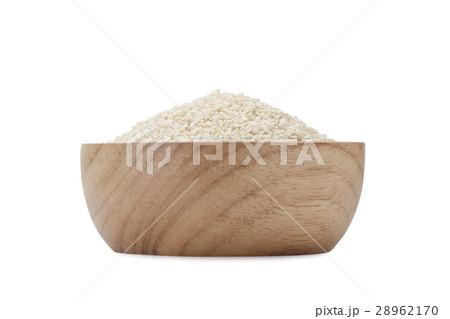 white sesame seeds 28962170