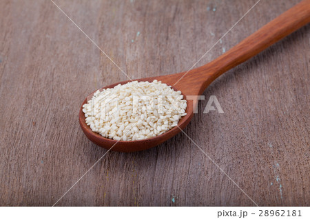 white sesame seeds 28962181