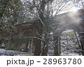 雪の南禅寺水路閣 28963780