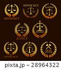 擁護 法 アイコンのイラスト 28964322