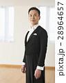 社交ダンス 男性 燕尾服の写真 28964657