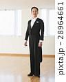社交ダンス 男性 燕尾服の写真 28964661