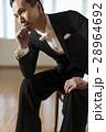 社交ダンス 男性 考えるの写真 28964692