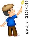 Little boy painting 28964843