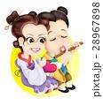 アジア人 アジアン アジア風のイラスト 28967898