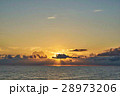 日本海 夕暮れ 雲の写真 28973206