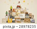 サンタクロース サンタ クリスマスのイラスト 28978235