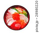 海鮮丼 海鮮どんぶり 海鮮のイラスト 28980220