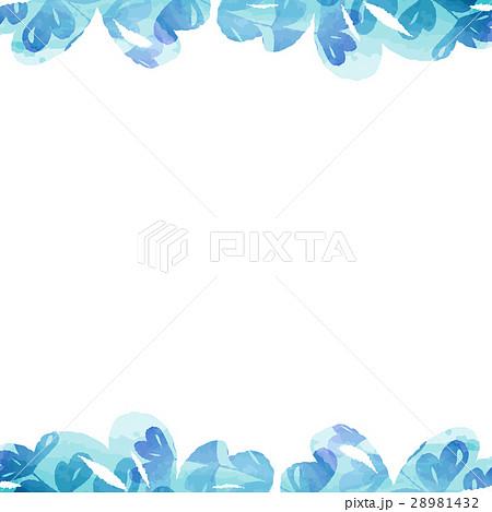 フレーム・植物・水彩 28981432
