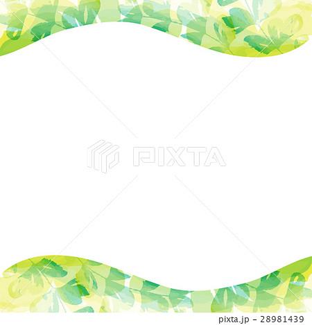 フレーム・植物・水彩 28981439