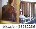 露天風呂を楽しむ外国人女性と日本人女性 28982236