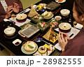 旅館のコース料理 28982555