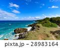 沖縄県 久高島 ロマンスロードからの眺め 28983164
