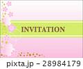 桜 フレーム 枠のイラスト 28984179