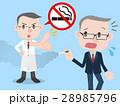 喫煙 禁止 医者のイラスト 28985796