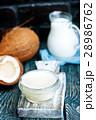 具 材料 ココナツの写真 28986762