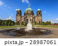 ドイツ ベルリン大聖堂 噴水の写真 28987061