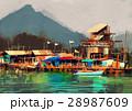 釣り フィッシング 魚採りのイラスト 28987609