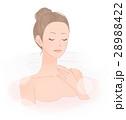 お風呂に入る女性 28988422