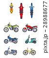 バイク、オートバイ、二輪、原付、スクーター、カブ、オンロードバイク、オフロード 28988677