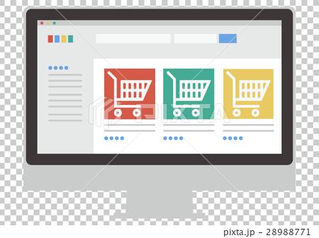 Illustrations Material Gadget Online Shop PC 28988771