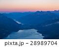 スイス 山脈 暁の写真 28989704