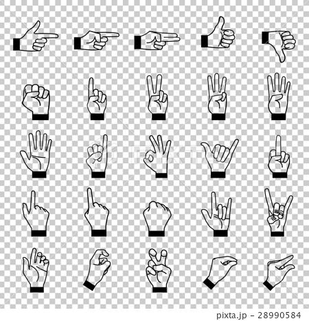 手手指图标 28990584
