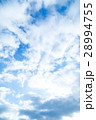空 雲 青い空 白い雲 合成用背景素材 写真素材 28994755