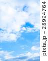 空 雲 青い空 白い雲 合成用背景素材 写真素材 28994764