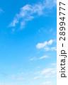 空 青い空 白い雲の写真 28994777