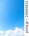 空 雲 青い空 白い雲 合成用背景素材 写真素材 28994825