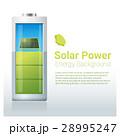 エネルギー ソーラー 太陽のイラスト 28995247