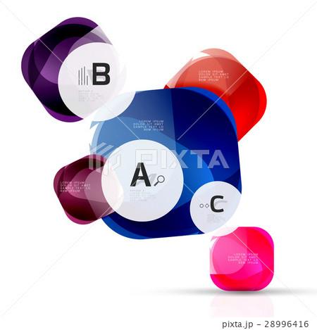 Vector abstract gem stonesのイラスト素材 [28996416] - PIXTA