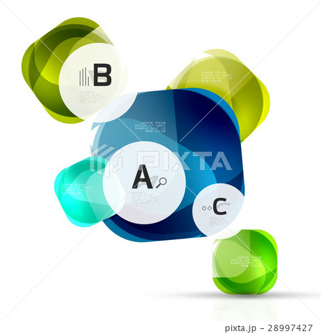 Geometric abstract backgroundのイラスト素材 [28997427] - PIXTA