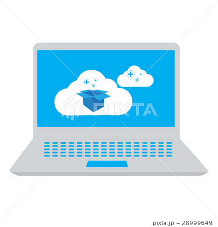 Cloud computing illustrationのイラスト素材 [28999649] - PIXTA