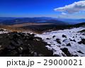 富士山吉田口六合目からの眺め 29000021