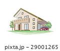 手書き風の家のイラスト 29001265