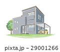手書き風の家のイラスト 29001266