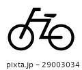 自転車マーク 29003034