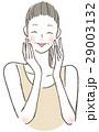 微笑む女性 中年 29003132