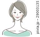 ベクター 女性 ミドルのイラスト 29003135