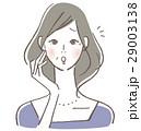 ベクター 女性 ミドルのイラスト 29003138