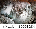 滝 白ひげの滝 ライトアップの写真 29003284