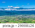 安曇野 風景 田園風景の写真 29008126