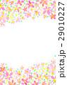 背景素材 花柄 模様のイラスト 29010227