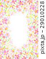 背景素材 花柄 模様のイラスト 29010228