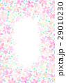 背景素材 花柄 模様のイラスト 29010230