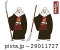 歴史の教科書や歴史関連パンフレットに使える女性領主として知られる戦国時代の女武将 井伊直虎イラスト 29011727