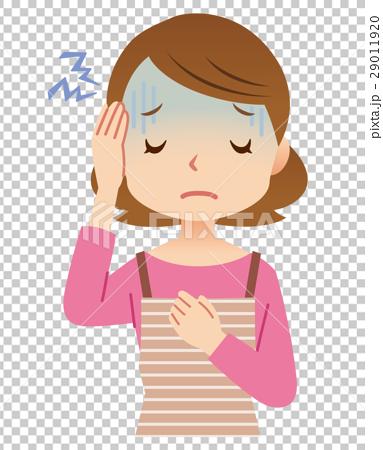 主婦 頭痛 29011920