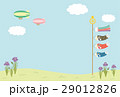 こどもの日 鯉のぼりと青空 29012826